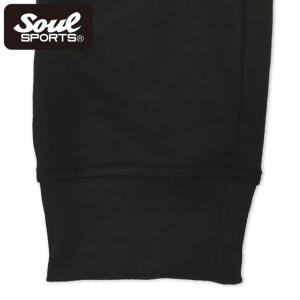 SOUL SPORTSオリジナル プリントロゴ スウェットパンツ(ロング丈) ブラック 2018新作|soul-sports|11