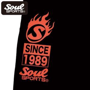SOUL SPORTSオリジナル プリントロゴ スウェットパンツ(ロング丈) ブラック 2018新作|soul-sports|08