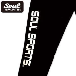 SOUL SPORTSオリジナル プリントロゴ スウェットパンツ(ロング丈) ブラック 2018新作|soul-sports|10