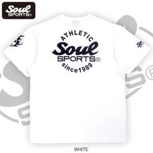 SOUL SPORTSオリジナル Sファイヤー3連ロゴ 半袖Tシャツ ブラック/ホワイト 2019新作|soul-sports|11
