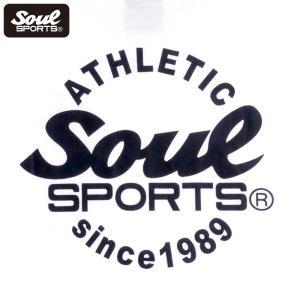 SOUL SPORTSオリジナル Sファイヤー3連ロゴ 半袖Tシャツ ブラック/ホワイト 2019新作|soul-sports|15