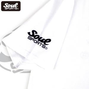 SOUL SPORTSオリジナル Sファイヤー3連ロゴ 半袖Tシャツ ブラック/ホワイト 2019新作|soul-sports|17