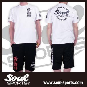 SOUL SPORTSオリジナル Sファイヤー3連ロゴ 半袖Tシャツ ブラック/ホワイト 2019新作|soul-sports|18