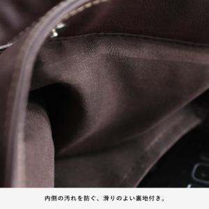 多収納ポケットトートバッグ レディース 鞄 フェイクレザー 合皮 バイカラー シンプル エディターズバッグ A4対応|soulberry|13