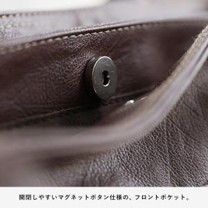 多収納ポケットトートバッグ レディース 鞄 フェイクレザー 合皮 バイカラー シンプル エディターズバッグ A4対応|soulberry|14