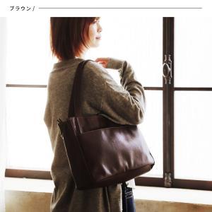 多収納ポケットトートバッグ レディース 鞄 フェイクレザー 合皮 バイカラー シンプル エディターズバッグ A4対応|soulberry|07