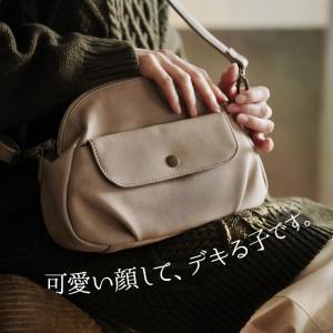 フラップポケットミニショルダーバッグ レディース 鞄 斜め掛け ポシェット 合皮 フェイクレザー soulberryオリジナル