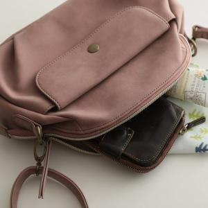 フラップポケットミニショルダーバッグ レディース 鞄 斜め掛け ポシェット 合皮 フェイクレザー soulberryオリジナル|soulberry|12