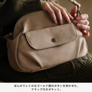 フラップポケットミニショルダーバッグ レディース 鞄 斜め掛け ポシェット 合皮 フェイクレザー soulberryオリジナル|soulberry|13