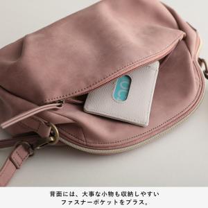 フラップポケットミニショルダーバッグ レディース 鞄 斜め掛け ポシェット 合皮 フェイクレザー soulberryオリジナル|soulberry|16