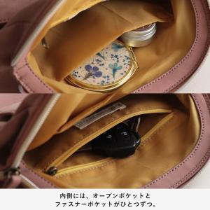 フラップポケットミニショルダーバッグ レディース 鞄 斜め掛け ポシェット 合皮 フェイクレザー soulberryオリジナル|soulberry|17