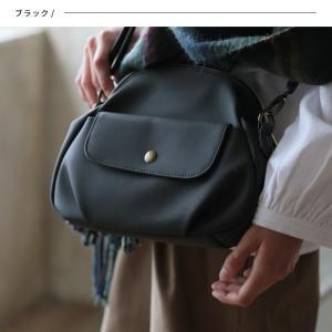 フラップポケットミニショルダーバッグ レディース 鞄 斜め掛け ポシェット 合皮 フェイクレザー soulberryオリジナル|soulberry|05