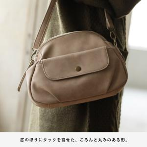 フラップポケットミニショルダーバッグ レディース 鞄 斜め掛け ポシェット 合皮 フェイクレザー soulberryオリジナル|soulberry|10