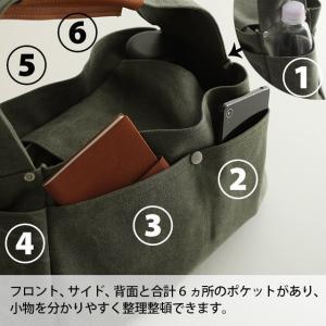 トートバッグ レディース 鞄 手提げ 肩掛け 帆布|soulberry|14