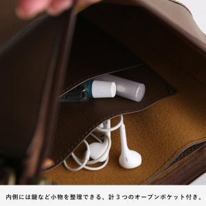大人にすっきり映えるショルダーバッグ レディース 鞄 肩掛け 斜め掛け ポシェット 手提げ フェイクレザー 合皮 多収納 シンプル soulberryオリジナル|soulberry|12