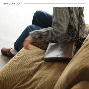 大人にすっきり映えるショルダーバッグ レディース 鞄 肩掛け 斜め掛け ポシェット 手提げ フェイクレザー 合皮 多収納 シンプル soulberryオリジナル|soulberry|06
