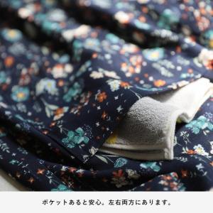 掘り出しバザール レトロな彩りで心地よく、花柄レインシャツカーディガン レディース 羽織り ロング レインウェア シャツ/お客様都合での返品交換不可 soulberry 16