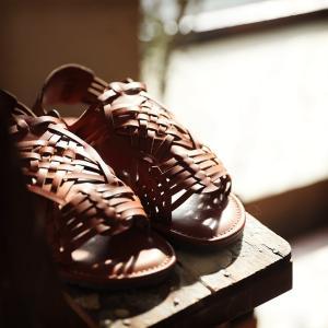 包みこむように編み上げたバスケットサンダル レディース 靴 シューズ メッシュ フラット ローヒール フェイクレザー 合皮/お客様都合での返品交換不可 soulberry 13