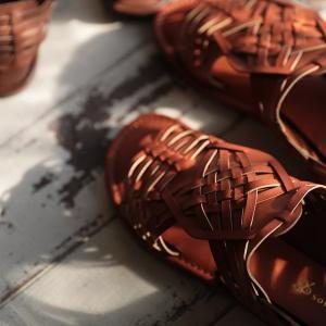 包みこむように編み上げたバスケットサンダル レディース 靴 シューズ メッシュ フラット ローヒール フェイクレザー 合皮/お客様都合での返品交換不可 soulberry 09