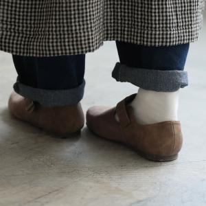 暮らしに溶け込む、やさしい味わいのコンフォートシューズ レディース 靴 フラット ぺたんこ フェイクスエード 切り替え 異素材 ベルト soulberryオリジナル|soulberry|10