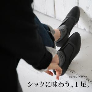 フェイクレザースリッポンフラットシューズ レディース 靴 ぺたんこ オックスフォード風 合皮 soulberryオリジナル|soulberry|15