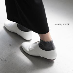 フェイクレザースリッポンフラットシューズ レディース 靴 ぺたんこ オックスフォード風 合皮 soulberryオリジナル|soulberry|10