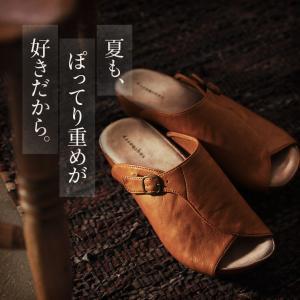 サンダル ナチュラル レディース シューズ 靴 ぺたんこ フラット 合皮 つっかけ soulberryオリジナル