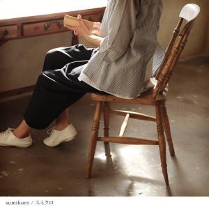 掘り出しバザール ふんわり空気を織りあげたWガーゼバルーンパンツ レディース テーパードパンツ サルエル 綿 コットン ボトムス/お客様都合での返品交換不可|soulberry|02