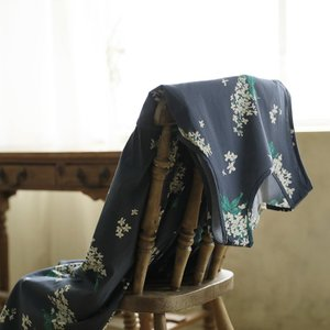 掘り出しバザール 着こなしも心もやさしく彩るライラック柄のワンピース レディース ノースリーブ フレア 花柄 フラワー ロング/お客様都合での返品交換不可|soulberry|11