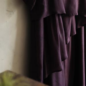 ワンピース レディース 半袖 五分袖 5分袖 フレア Aライン ロング丈 マキシ丈 イレギュラーヘム soulberryオリジナル soulberry 12