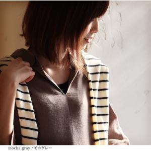 やさしい風をまとう、リネン混ワンピース レディース Aライン 麻混 リネン混 五分袖 5分袖 soulberryオリジナル/お客様都合での返品交換不可|soulberry|10
