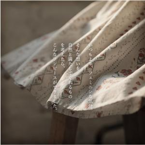 アンティーク風の花を咲かせた2WAYワンピース レディース 半袖 5分袖 五分袖 コットン 綿 花柄 フラワー Vネック フレア Aライン ロング soulberryオリジナル soulberry 04