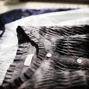 ひらりと風をまとうスリット入りピンタックワンピースレディース チュニック 羽織り 半袖 5分袖 五分袖 コットン 綿  Aライン ロング soulberryオリジナル|soulberry|19
