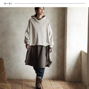 甘くならないダブルガーゼのシャツワンピース レディース 羽織り 長袖 ロング 綿 コットン|soulberry|02