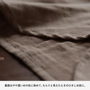 甘くならないダブルガーゼのシャツワンピース レディース 羽織り 長袖 ロング 綿 コットン|soulberry|15