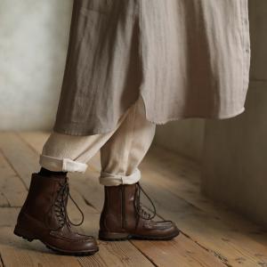 甘くならないダブルガーゼのシャツワンピース レディース 羽織り 長袖 ロング 綿 コットン|soulberry|17