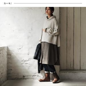 甘くならないダブルガーゼのシャツワンピース レディース 羽織り 長袖 ロング 綿 コットン|soulberry|04