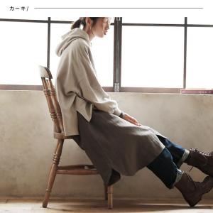 甘くならないダブルガーゼのシャツワンピース レディース 羽織り 長袖 ロング 綿 コットン|soulberry|06