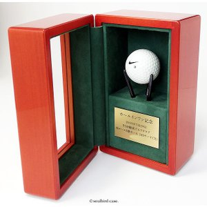 ホールインワン記念品・ゴルフボールケース  soulbird