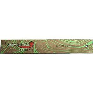 お香 スティック イランイラン YLANGYLANG オウロシカマーブル香 アロマインセンス 天然香料|soulmate-lotus