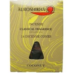 お香 コーン ココナッツ / COCONUT オウロシカ マーブル香 アロマインセンス 天然香料 soulmate-lotus