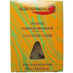 お香 コーン フランキンセンス(乳香) / FRANKINCENSE マーブル香 オウロシカ アロマインセンス 天然香料 soulmate-lotus