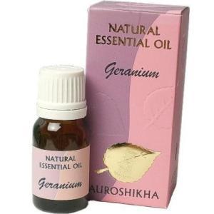 ジェラニウム アロマオイル 10ml 限りなくオーガニックな精油 インド オウロシカ|soulmate-lotus