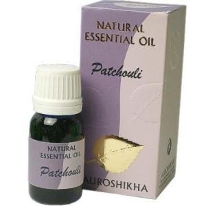 パチュリー Patchouli  アロマオイル10ml Pogostemon cablin 限りなくオーガニックな高品位精油auroshikha オウロシカ|soulmate-lotus