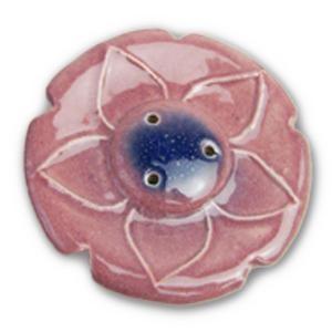 お香立て インセンスホルダー プチ ローズ フラワー セラミック製 インテリア オウロシカ正規輸入|soulmate-lotus