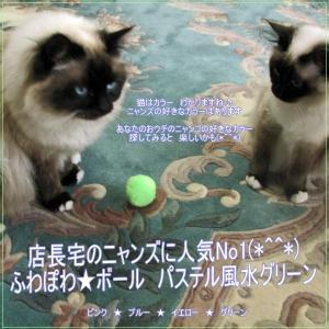 人気No1☆ふわぽわ☆ボール 風水グリーン安全♪大きいので誤飲の心配もありません(*^^*) soulmate-lotus