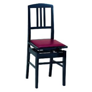 甲南 Konan 背もたれピアノ椅子 No.5