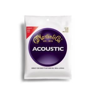【ピック2枚付!】Martin マーチン アコースティックギター弦 80/20Bronze M140|sound-depo