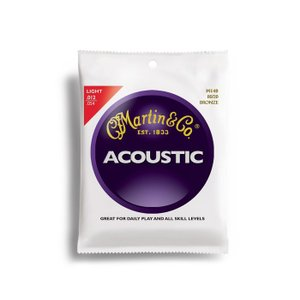 【ピック2枚付!】Martin マーチン アコースティックギター弦 80/20 Bronze M170|sound-depo