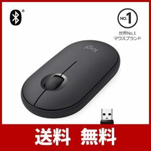 ロジクール ワイヤレスマウス 無線 マウス Pebble M350GR 薄型 静音 グラファイト ワイヤレス windows mac Chrome A|sound-marks